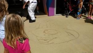 WDW Sidewalk Art