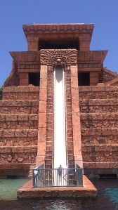 Atlantis Leap of Faith water slide