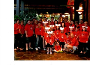 Family Reunion at WDW